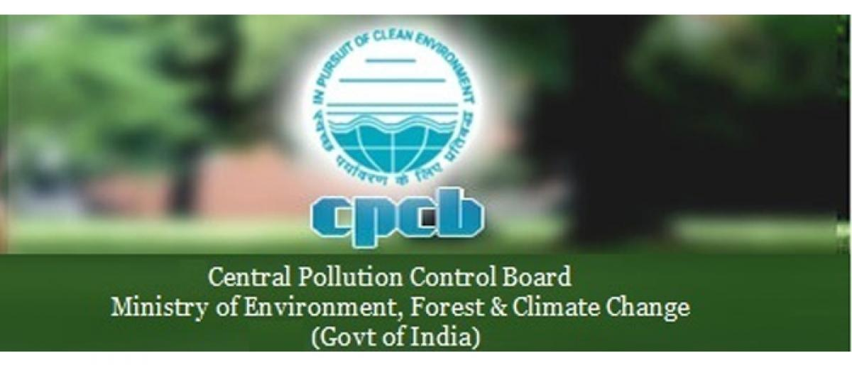 What's Up? Pollution Control Board doesn't wait