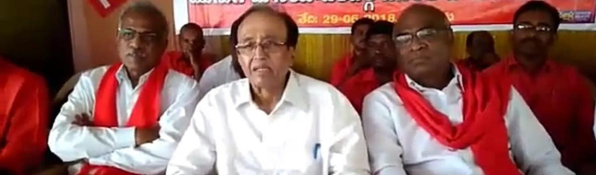BJP govt at Centre instigating attacks on Dalits: CPI
