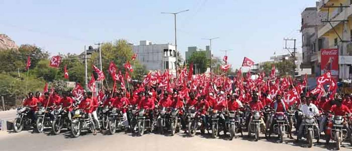 CPI to fight anti-people policies of State, Centre