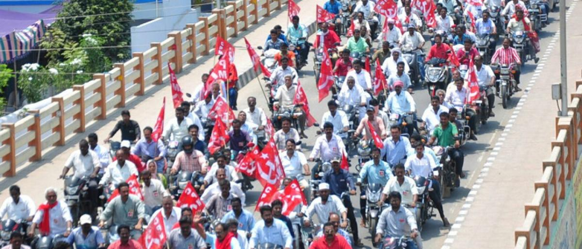 CPM trying to regain its lost ground in Telangana