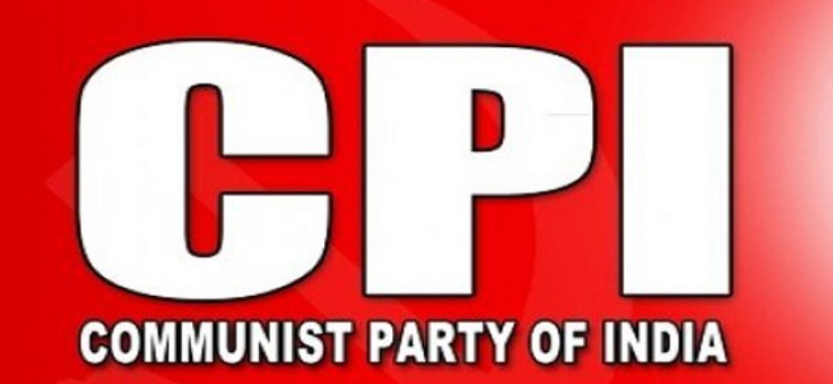 CPI leaders quit party, allege dist leaders corrupt
