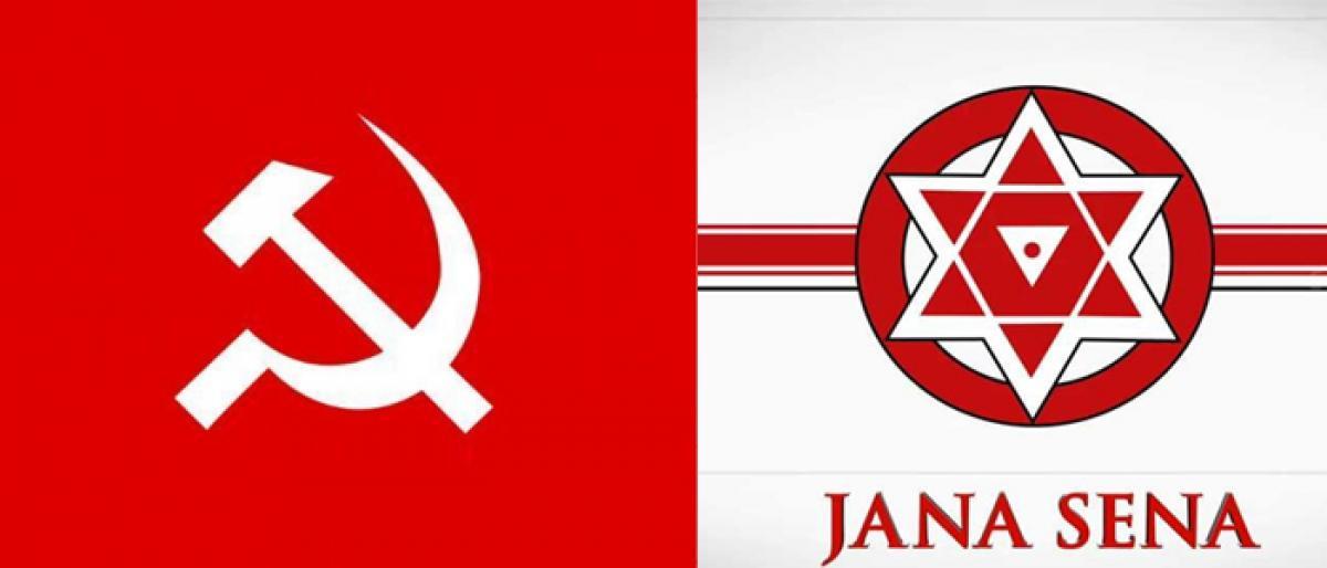 CPM, Jana Sena on same page, to work together