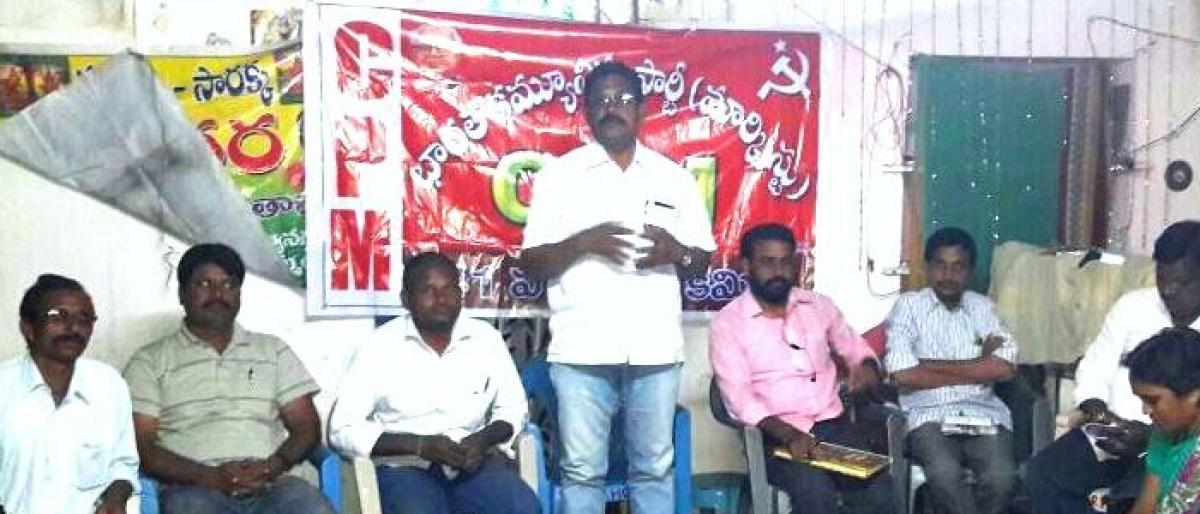 Release funds for development of divisions, demands CPM