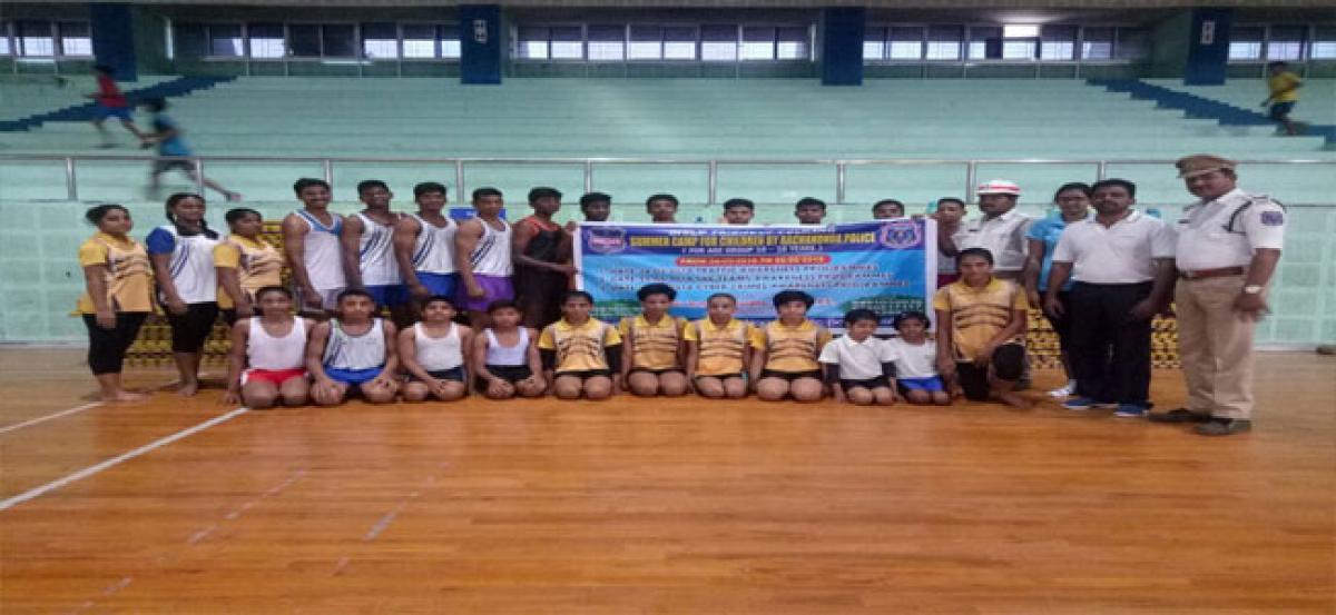 Children urged to join summer camp
