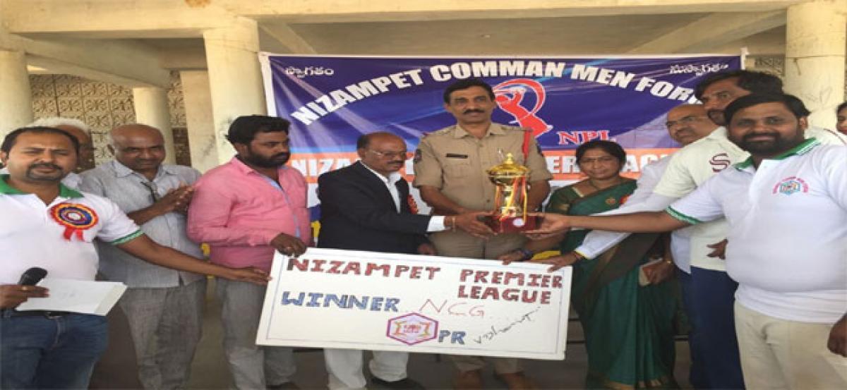 Nizampat Cricket Group wins Premier League tourney