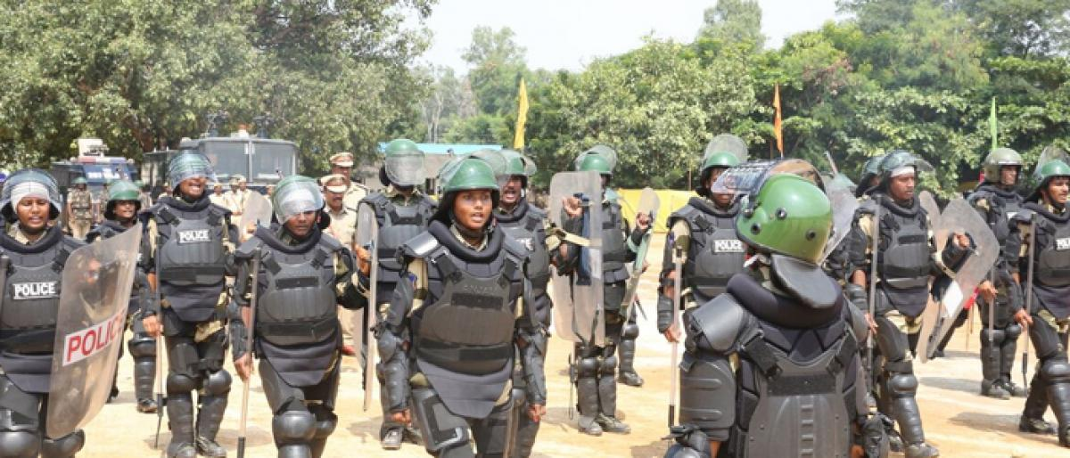 Special police force makes debut to quell trouble