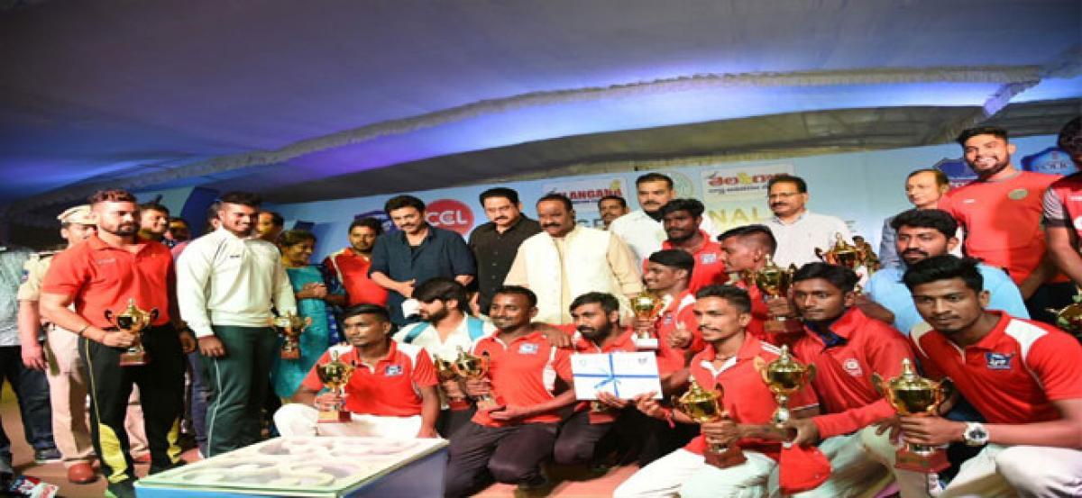 Celebrity Club wins Police League Tournament