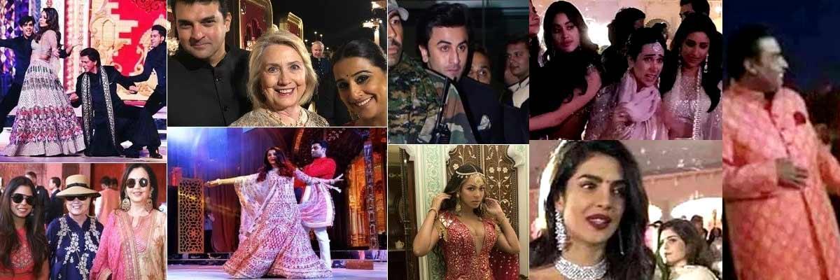 Star-Studded Extravaganza - Isha Ambani Sangeet Ceremony