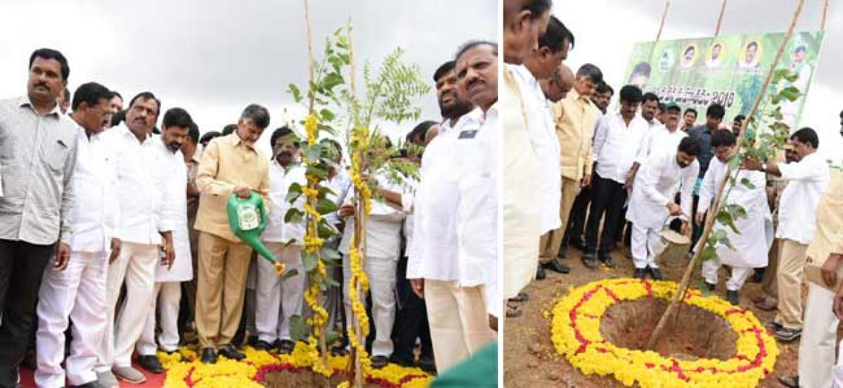 Water will be provided 2crores acres in coming days- Chief Minister N.Chandra Babu naidu