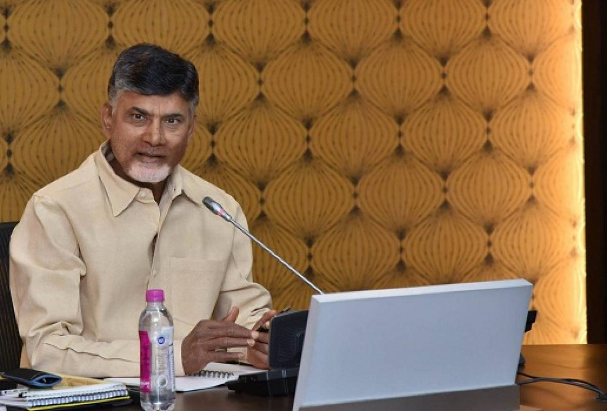 Chandrababu Asks MPs To Intensify Struggle In Parliament