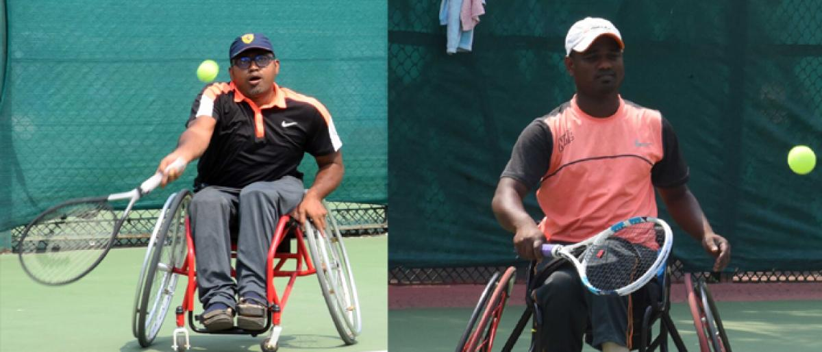AITA Wheel Chair Tennis Tournament: Day 2 results
