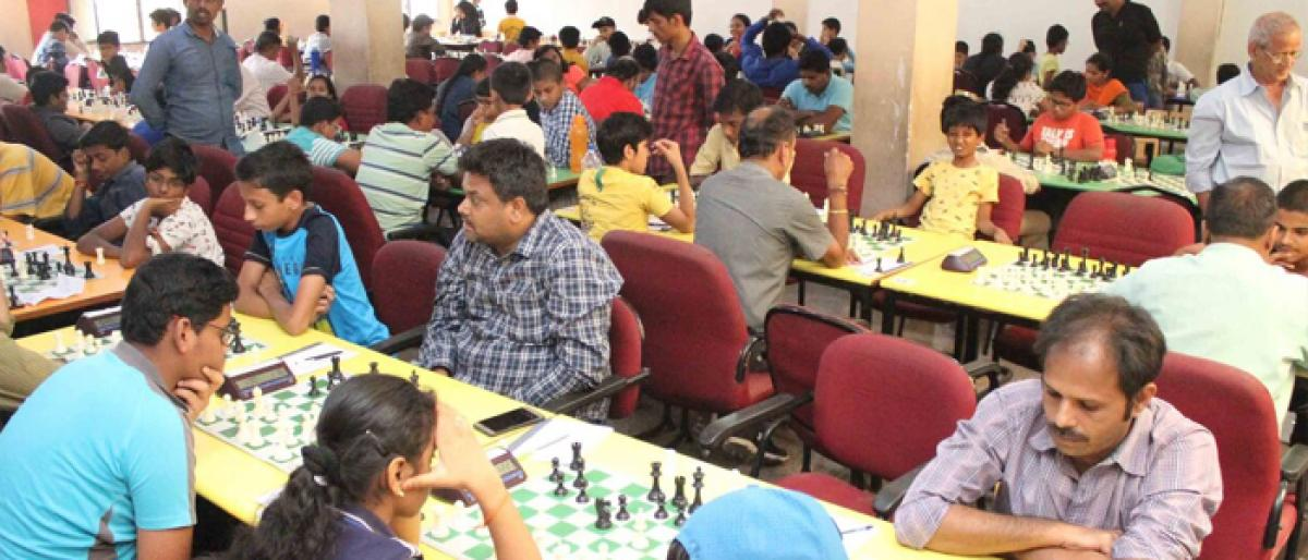 Day 3 Results - All India Open FIDE Rating Chess Tournament