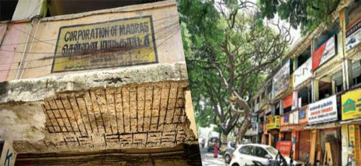 Complexes of the Chennai Corporation don