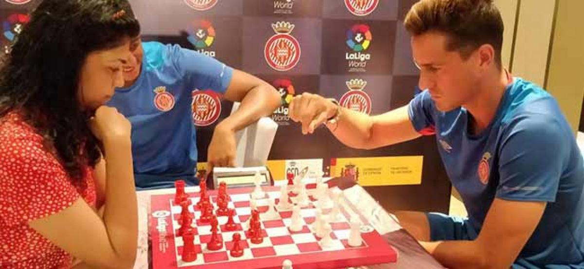 Girona FC take on the best of India and Spain at Chess
