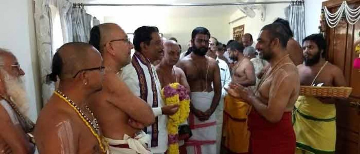 Chinna Jeeyar invited for Sri Rama Kalyanam