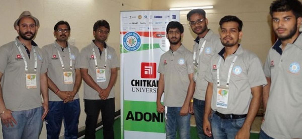 Chitkara University bags honours at Smart India Hackathon 2018