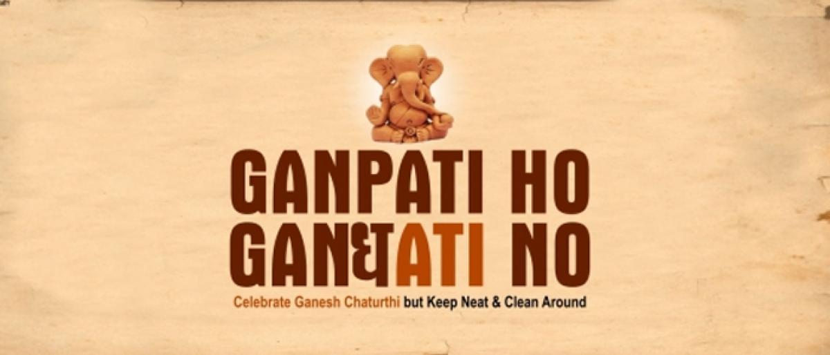 Keep areas clean during Ganesh Chaturthi says corporator Mamatha Santosh Gupta