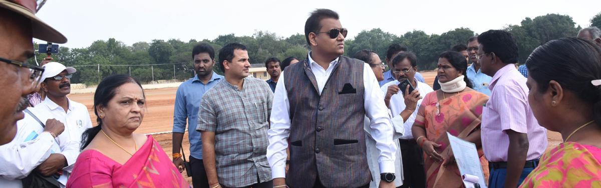 Tirupati should host national sports every year: Collector PS Pradyumna
