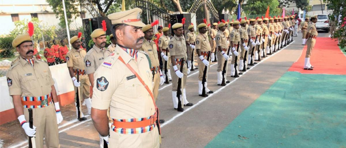 Police commemoration day observed in Ongole