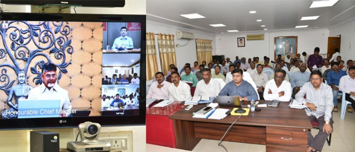 State has better happiness index in country: CM Nara Chandrababu Naidu