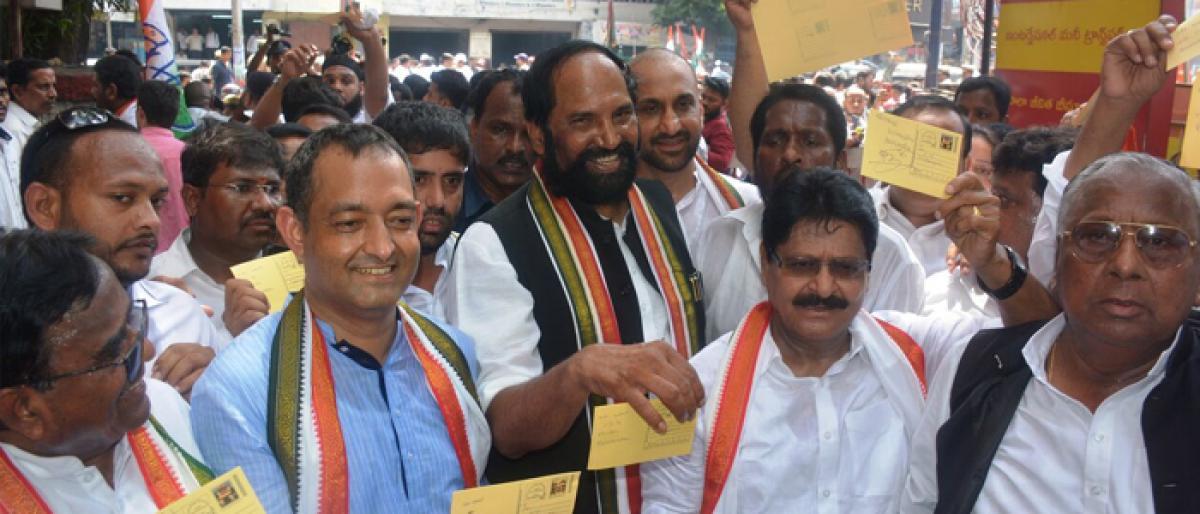 Congress raises 12 pc Muslim quota pitch at rally