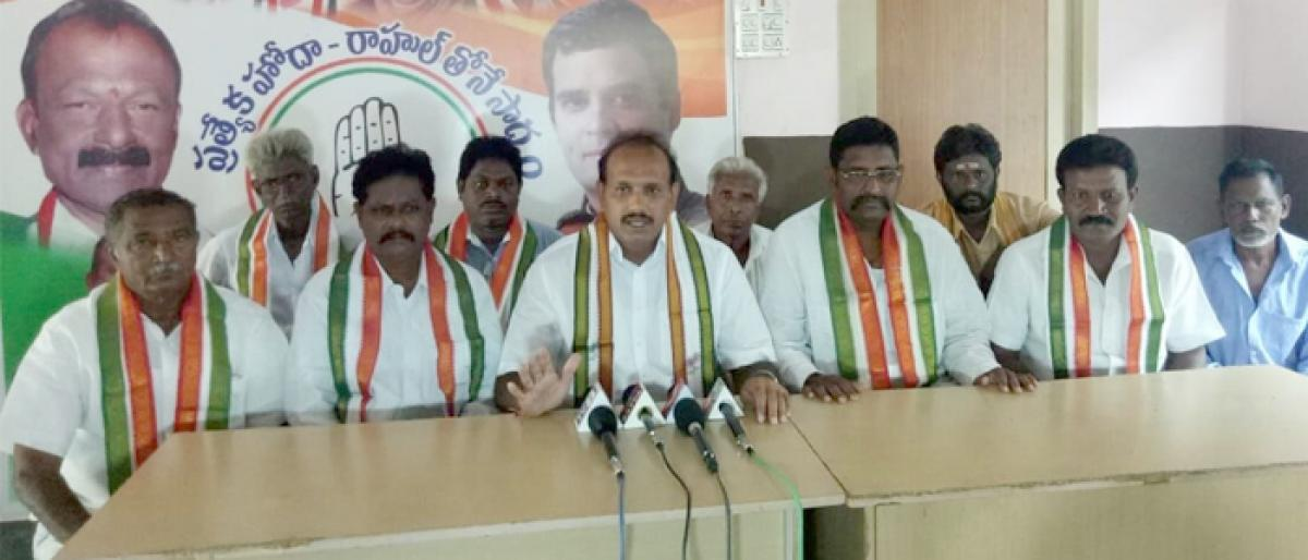 Raghuveera to take part in 'Intinta Congress'