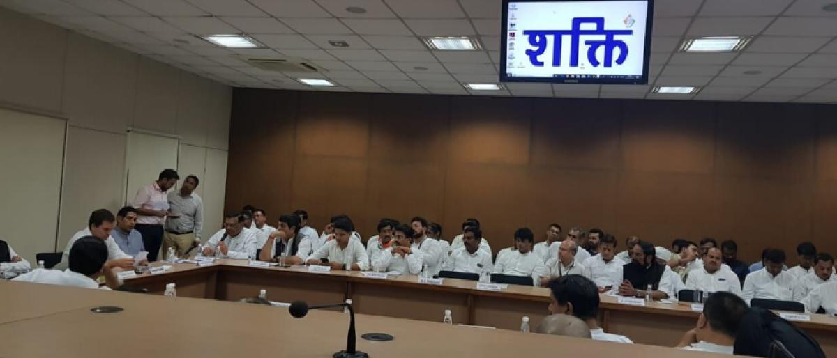 Telangana Congress Shakti work wows Rahul