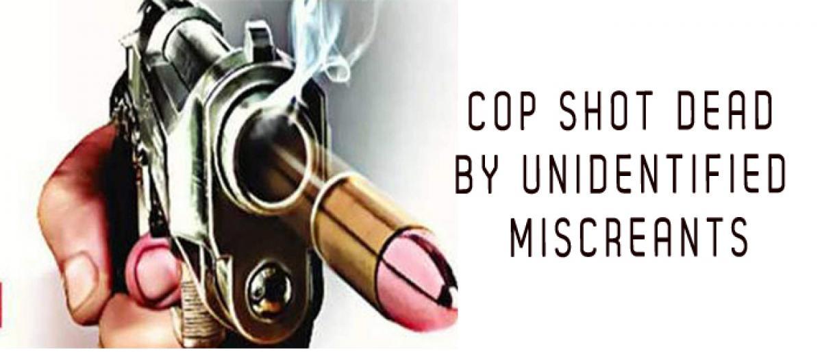 Cop shot dead by unidentified miscreants in New Delhi
