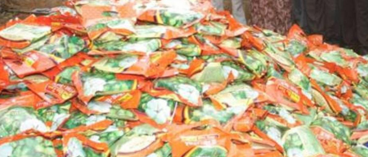 4,064 bags of spurious cotton seeds seized