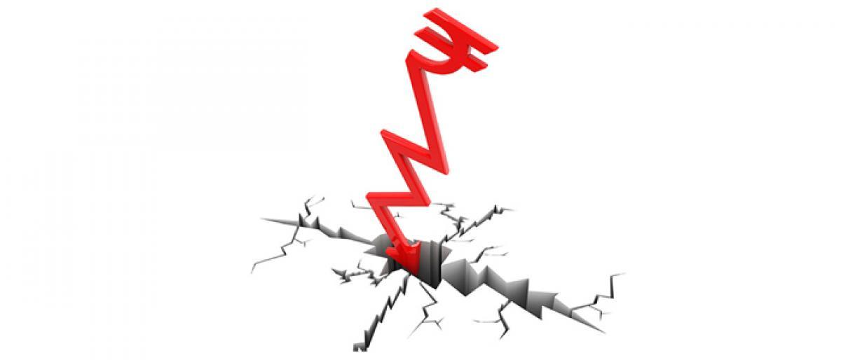 Markets crash on weak