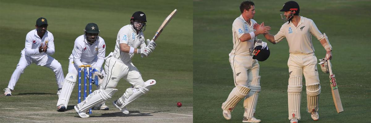 Williamson, Nicholls swell New Zealand lead to 198 runs in final Test
