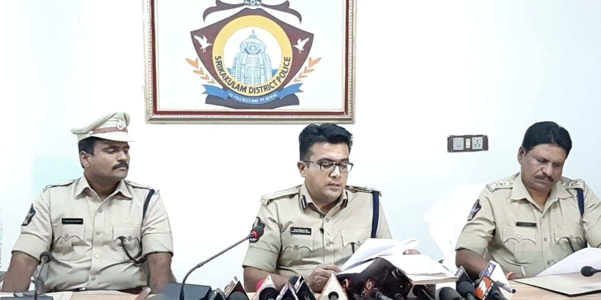 Crime against women reduced in Srikakulam