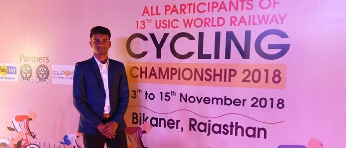 Indian cycling team bags silver medal