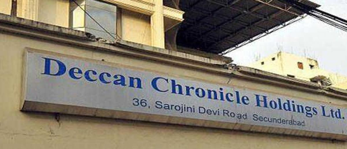 Will Srei Infra Fin get Deccan Chronicle?