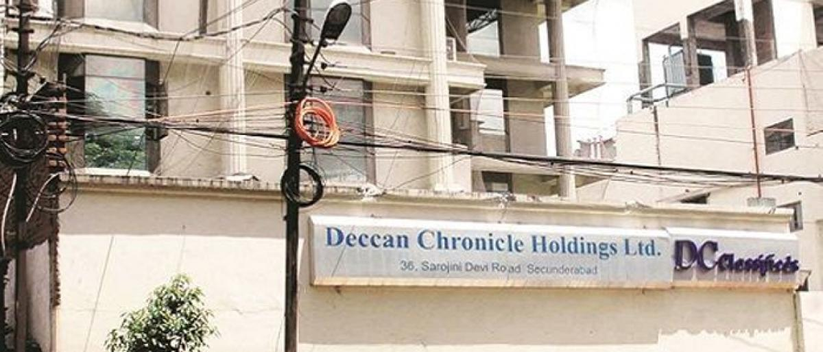 Deccan Chronicle may go for Rs 370 cr