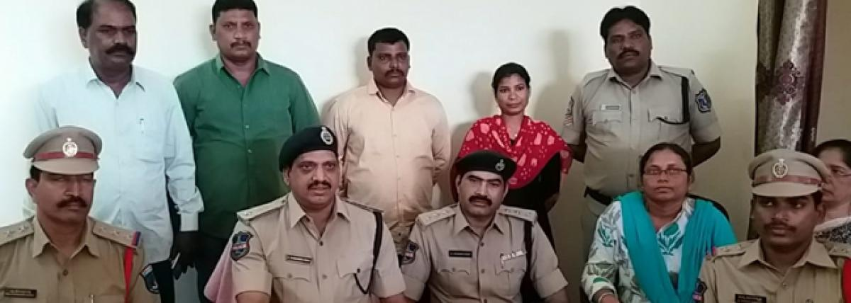 Seven arrested on charge of baby selling in Bhongir