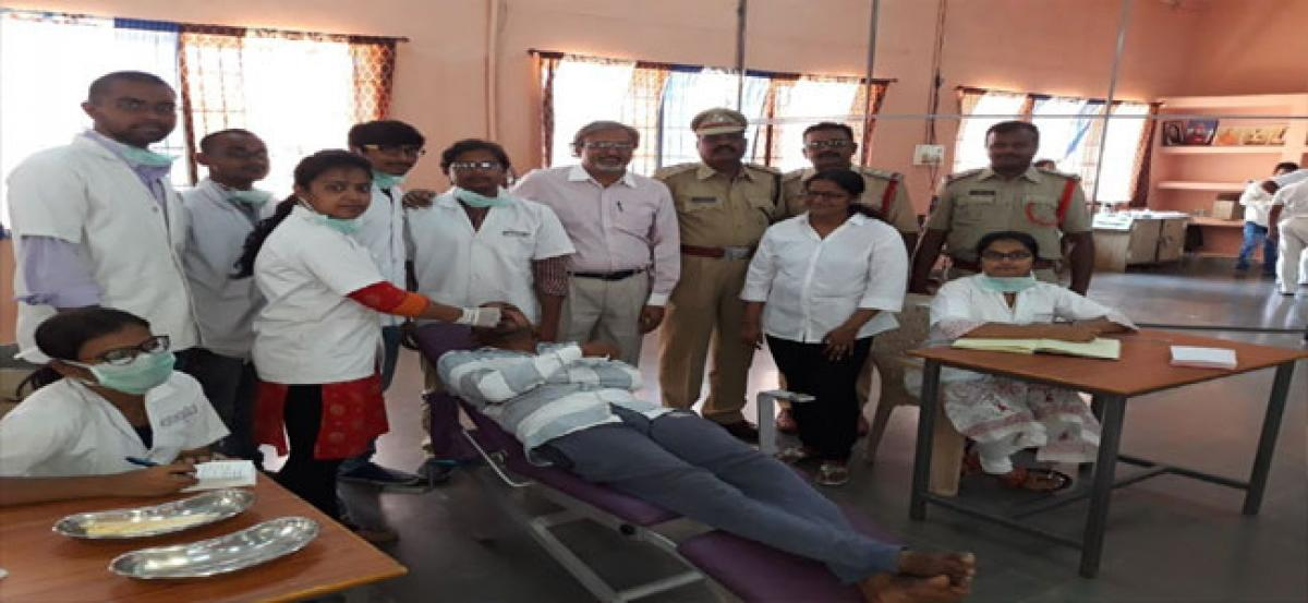 Dental camp held at Cherlapally prison for inmates