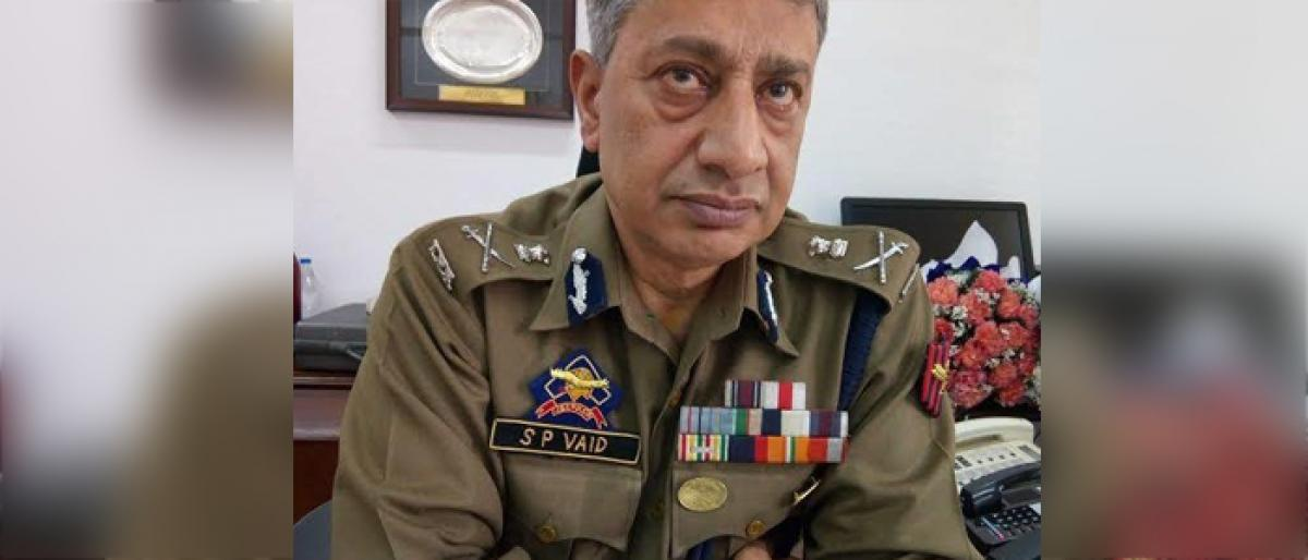 What cost Jammu and Kashmir top cop his job?