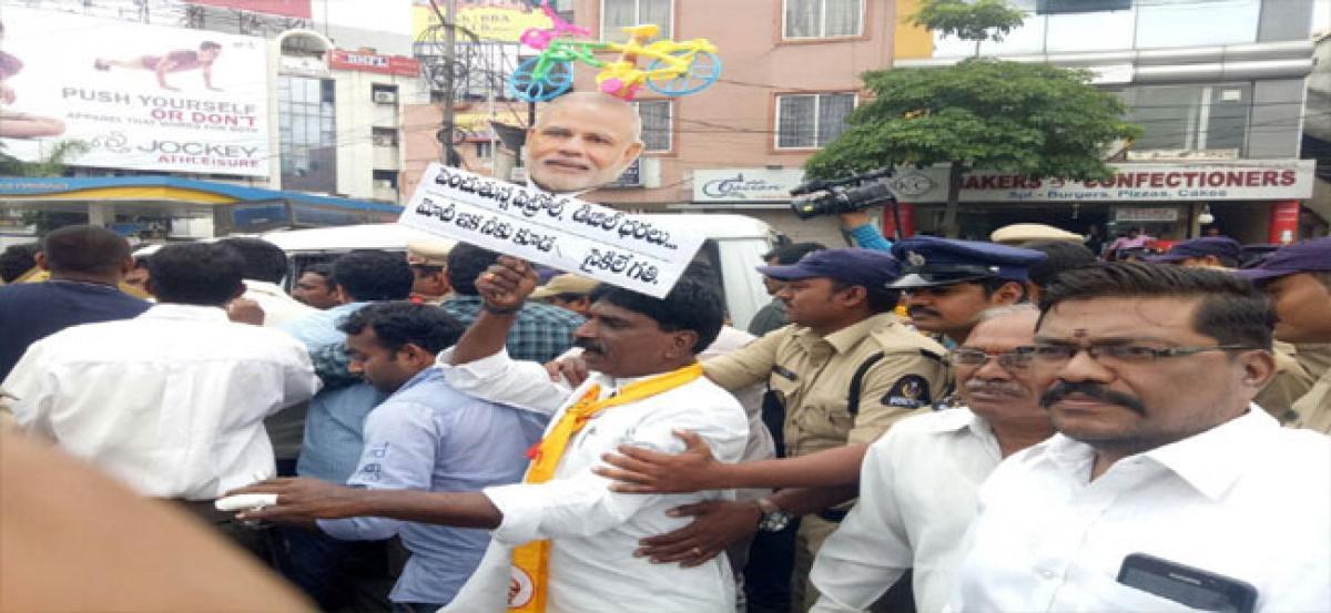 TDP demands roll back of petrol, diesel prices