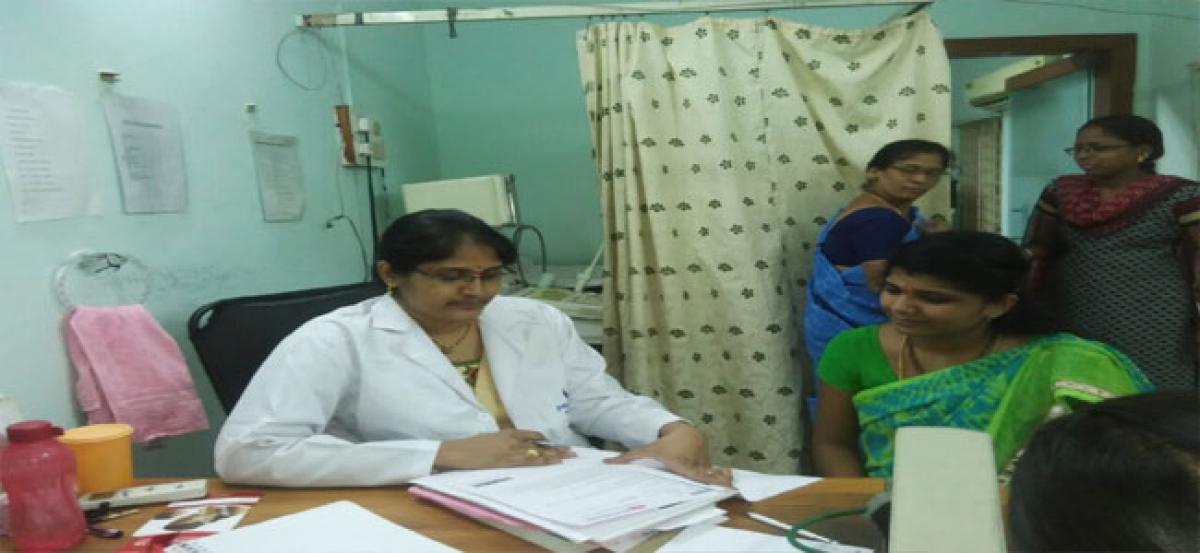 Women avail free health check-up services