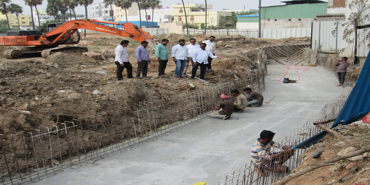 Officials told to speed up drainage works at Greens Colony