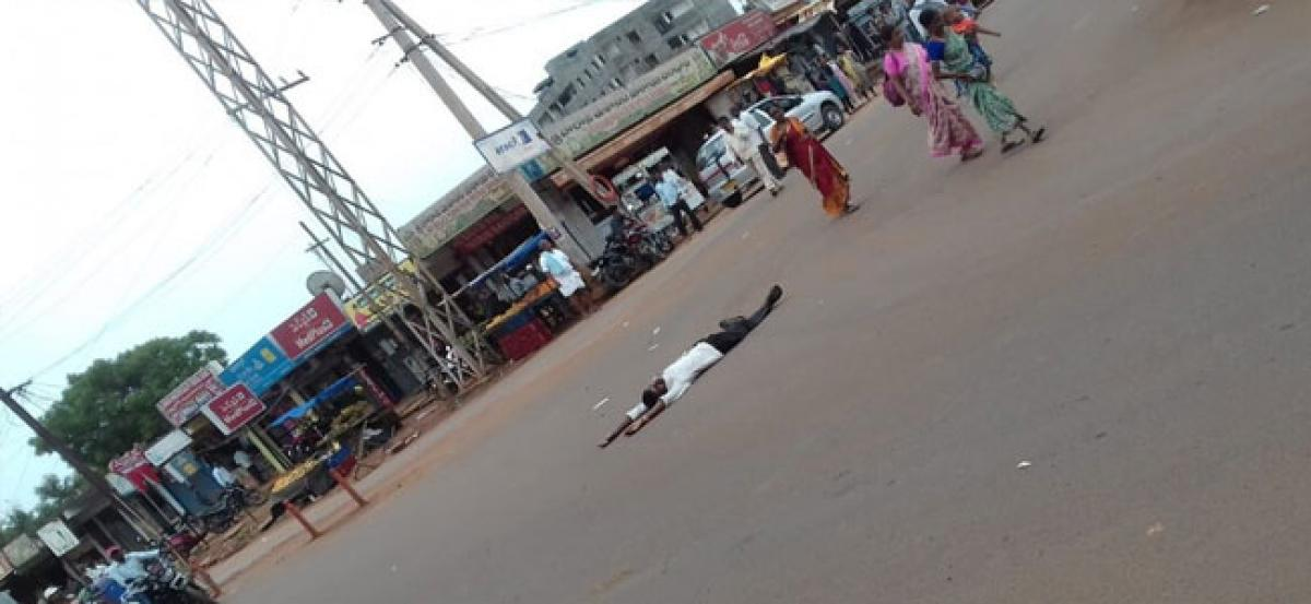 Public drunkenness a nuisance in Vikarabad