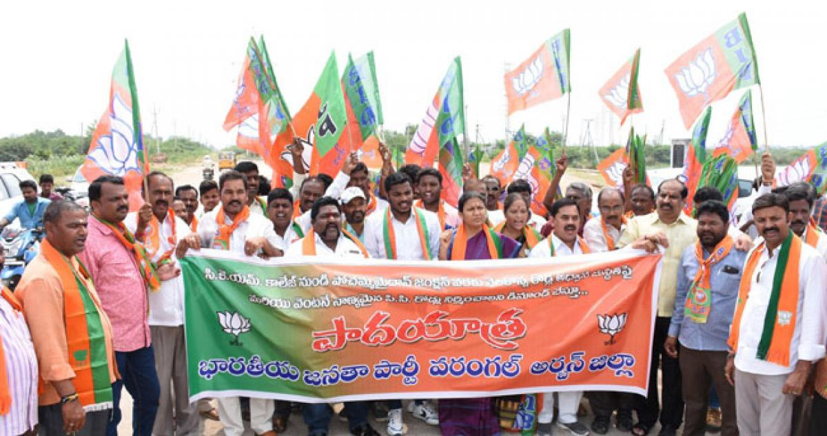 TRS, more of words than deeds: BJP