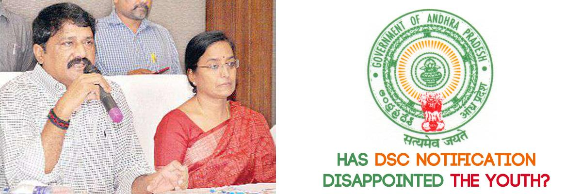 Has DSC notification disappointed the youth?