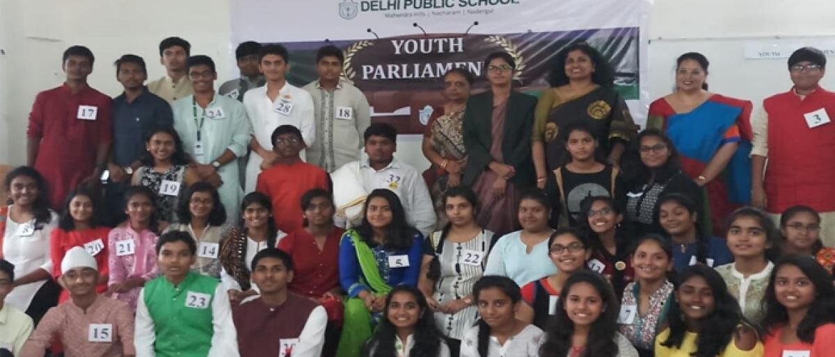 Historical Youth Parliament initiation by DPS