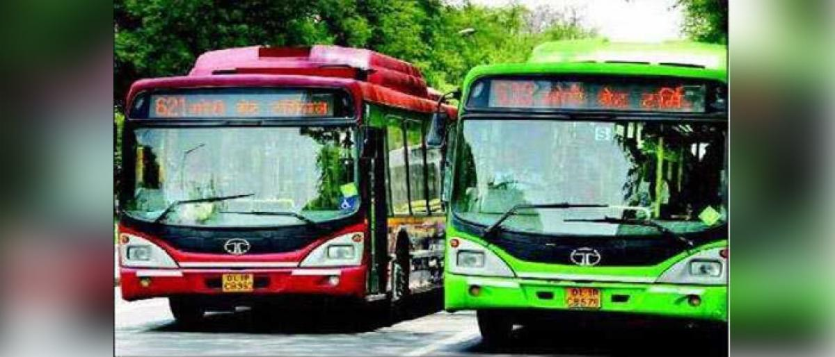 Free travel for women in DTC buses