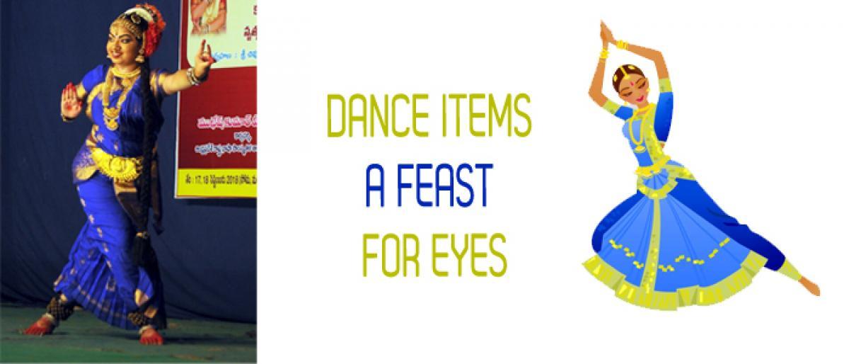 Dance items a feast for eyes at Gantasala Music College in Vijayawada