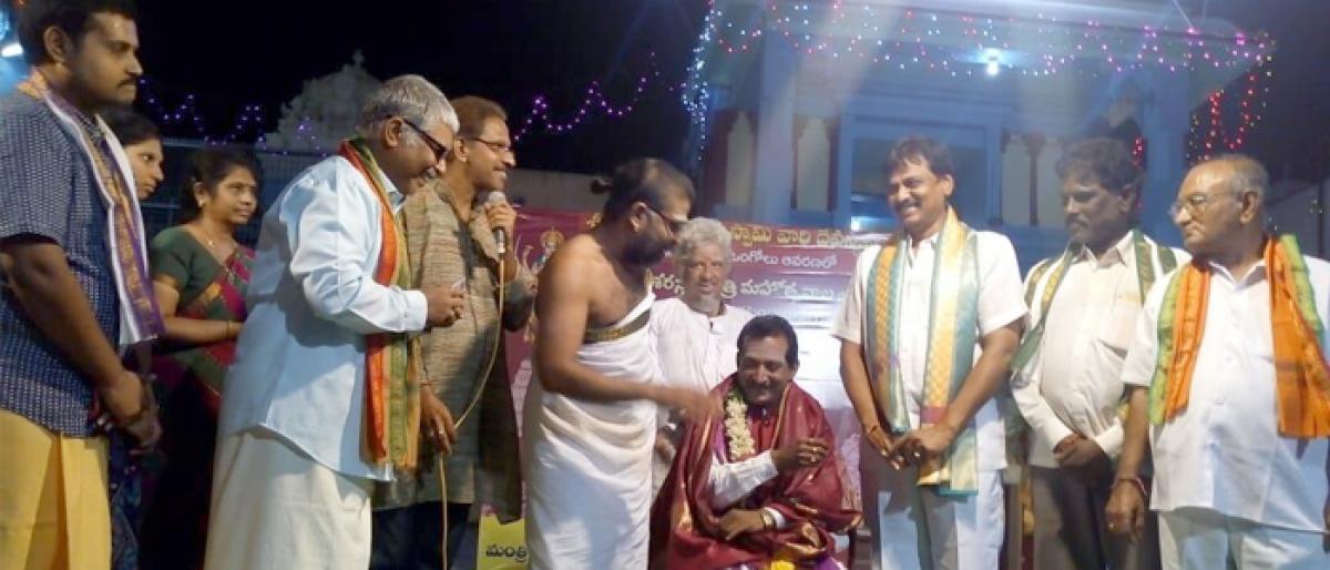 Dasara glorifies victory of good over evil