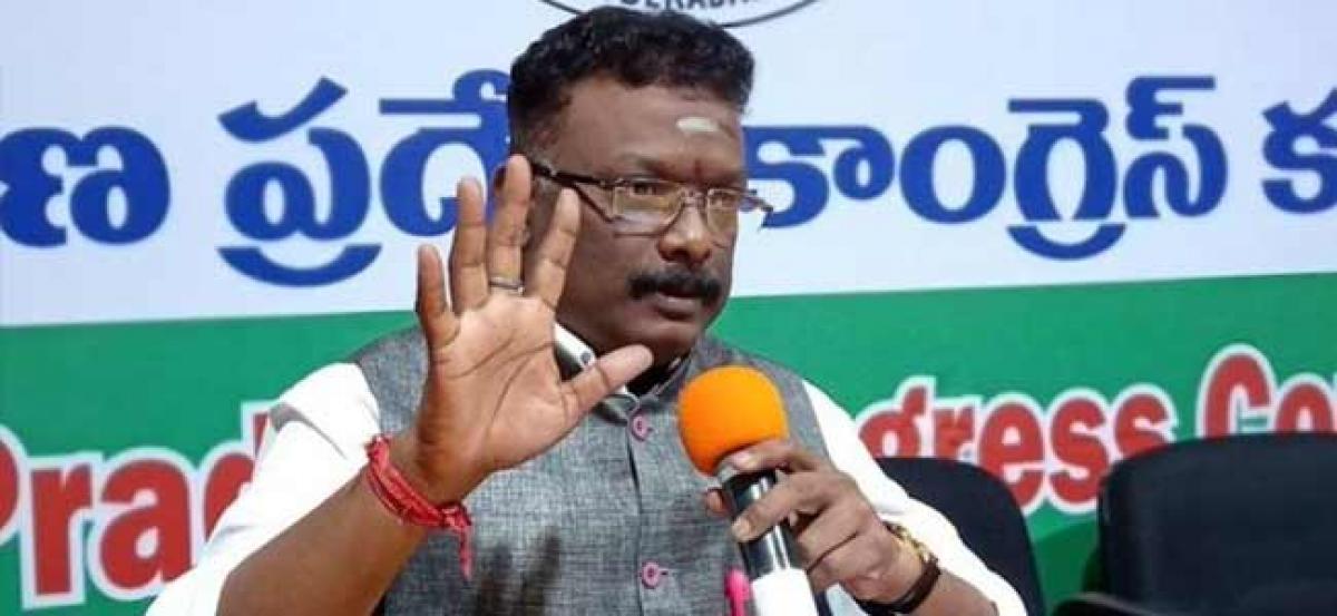 Jolt to Dasoju Sravan as returning officer rejects nomination