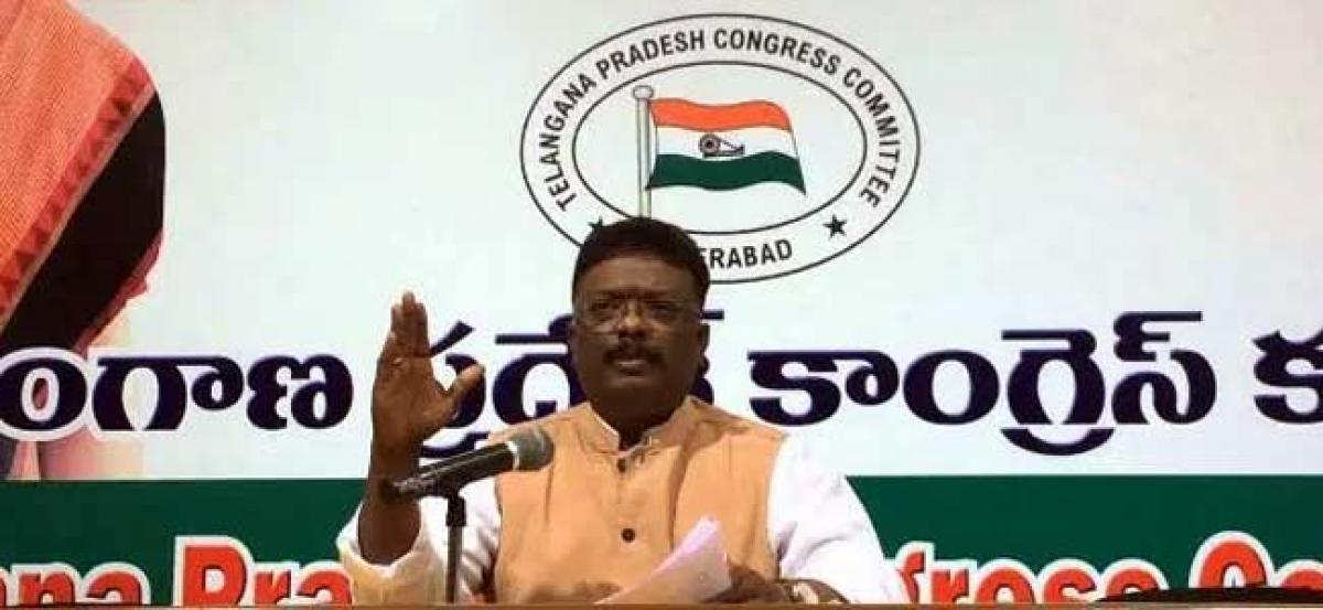 Congress wants 54% quota for BCs in PR polls, not 34%: Sravan